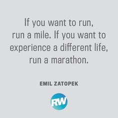 "10.3k Likes, 111 Comments - Runner's World (@runnersworldmag) on Instagram: ""Marathons have the ability to change your life. #motivation"""