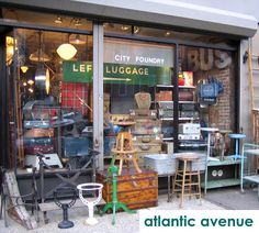 'Atlantic Avenue'  - great place, yes please!