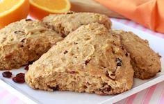 The Lovely Scones! (Orange-Cran Recipe) Hungry Girl lighter recipe