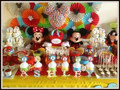 Mickey Mouse Clubhouse Party Birthday Party Ideas | Photo 1 of 11 | Catch My Party