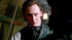 """thefilmstage: """"The first trailer for Guillermo del Toro's Crimson Peak with Jessica Chastain, Tom Hiddleston, Mia Wasikowska, and Charlie Hunnam has arrived. Watch here. Tom Hiddleston News, Tom Hiddleston Movies, Tom Hiddleston Crimson Peak, Tom Hiddleston Dancing, Tom Hiddleston Quotes, Loki Laufeyson, Crimson Peak Movie, Tom Sharpe, Mia Wasikowska"""