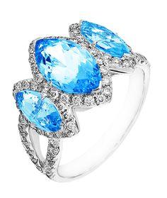 iamond Ring, .82 Carat Diamonds 3.01 Carat Zirconia on 14K White & Yellow Gold