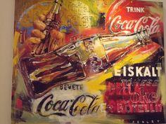 Coca-Cola Advertising Art