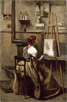 Camille Corot - Corot's Studio [c.1873]