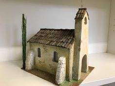 Pottery Houses, Ceramic Houses, Old Churches, Model Train Layouts, Christmas Villages, Miniature Houses, Workshop, Inspired Homes, Wood Blocks