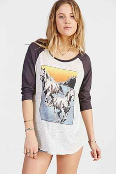 Project Social T Wild Horse Tee - Urban Outfitters
