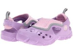 ad70c3b8bf81f6 Special Sale Crocs Kids Micah II Sandal (Toddler Little Kid) from  Zappos.com by Girl First Christmas