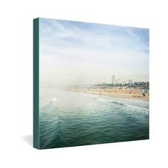 Bree Madden Santa Monica Gallery Wrapped Canvas | DENY Designs Home Accessories