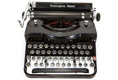 One Kings Lane - Maddie Sadofski - Remington Rand Typewriter