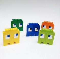 Pac-Man Pins #LEGO