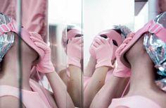 june calypso's photographs explore beauty rituals behind bathroom doors | read | i-D