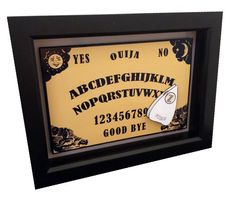 Ouija Board 3D Pop Art Occult Board Game Artwork on Etsy, $25.00