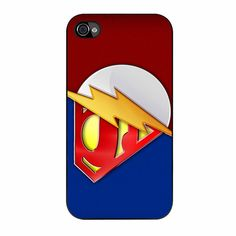 The Flash And Superman iPhone 4/4s Case