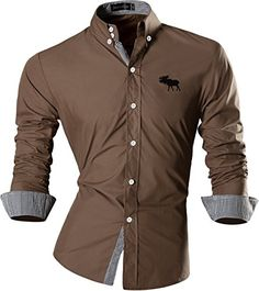 jeansian Men's Casual Slim Long Sleeves Dress Shirt 8558 ... https://www.amazon.com/dp/B01LYOO5DQ/ref=cm_sw_r_pi_dp_x_IbI7xbNM2G7YA