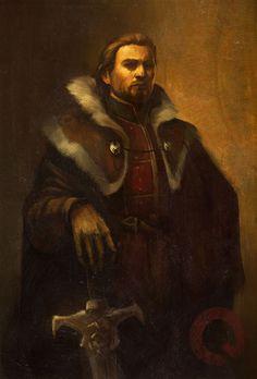Portrait of King Alistair (Dragon Age: Inquisition) by qissus.deviantart.com on @DeviantArt