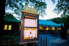 The Leob Boathouse sign Central Park