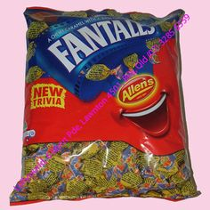 Allens Fantales are delightfully sticky and chewy.