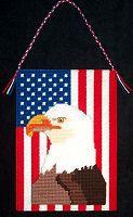 Patriotic stitchery