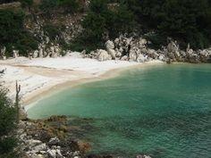 Marble beach thasos