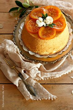 Fluffosa all'arancia | La ricetta che Vale