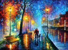 """The Melody of the Night"" by Leonard Afremov. on 9GAG"