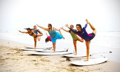 Yoga Surf Retreat | Surf Chicas in Paradise - Read our blog and Visit our website to sign up! www.chicasurfadventures.com