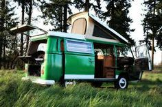 Camping made easy in this awesome #VW bus! Steet-Ponte Volkswagen, 5046 Commercial Drive, Yorkville, NY
