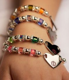 Medical Alert Bracelets Fashionable with Function