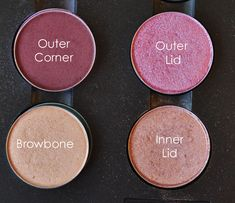 MAC: All That Glitters (inner lid) // Swish (outer lid) // Folie (outer corner) // Shroom (browbown)