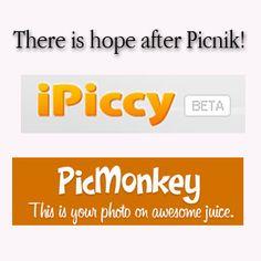 Two great free photoeditors (alternatives to Picnik!) i am sad to lose picnik