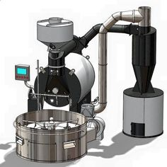 Stainless Steel Oven Drum Parts Grilled Cage Rotary Oven Mesh Barbecue Roasted Coffee Bean Nut Walnut Roaster CageCoffee Roasters My Coffee Shop, Coffee Farm, Coffee Brewer, Best Coffee, Coffee Cups, Coffee Maker, Roasters Coffee, Espresso Coffee, Tostadas