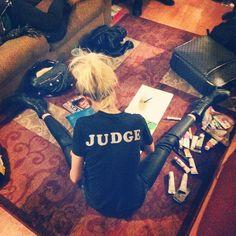 Alison Mosshart Backstage painting. Trocadero, Philadelphia.