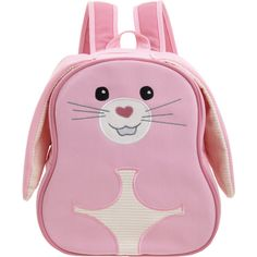 Apple Park Bunny Picnic Pal Backpack (150 ILS) ❤ liked on Polyvore featuring bags, backpack, baby, baby stuff and bolsas