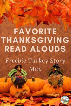 Here is a list of my favorite Thanksgiving read alouds. There is also a free turkey story map printable that your students can do to check for comprehension.