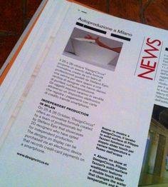 Oggi in edicola sul mensile Domus si parla anche di DesignCircus!