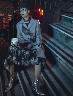 Bhumika Arora by Emma Summerton for Vogue Italia April 2016