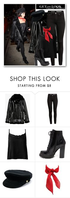 """""""Get the look: Vanessa Hudgens"""" by alexa-girl2 ❤ liked on Polyvore featuring Sans Souci, Jeffrey Campbell and Manokhi"""