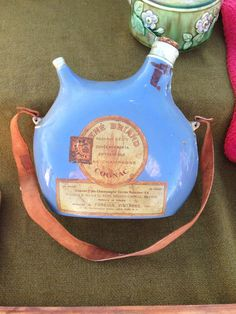 Thirsty? Check out this old cognac bottle.