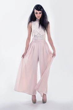 Orchidée $314 #onepiece #glam #cutout #outfit #ootd #pink #flowy #spring #summer #fashion #sequins #shimmer #responsibleluxury
