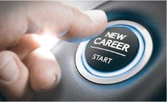 finger pressing a new career start button. concept of occupational or professional retraining or job opportunities. composite between a hand photography and a background Career Change, New Career, Career Advice, Career Planning, Best Car Insurance, Insurance Quotes, Career Options, Career Opportunities, Cover Design