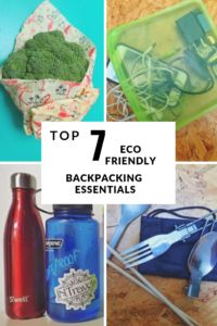 Eco Friendly Backpacking Essentials • The Adventures of Nadia and Jeff