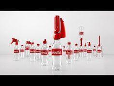 Coca-Cola Reincarnated: Innocative Caps Transform Used Bottles into Something New - https://magazine.dashburst.com/video/coca-cola-2nd-lives/