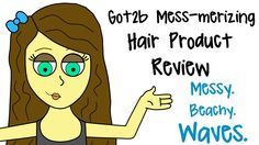 A review of Got2b's Mess-merizing Hair Product line! Click to view the tutorial for messy, beachy waves!