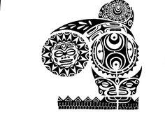 Polynesian tattoo wallpaper
