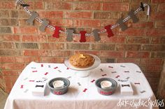 Celebrate your pup with a dog birthday party . complete with a pup-friendly birthday cake and puppy cupcakes for the humans! Make Birthday Cake, Dog Birthday, Birthday Ideas, Puppy Party, Dalmatian Party, Pupcake Recipe, Puppy Cupcakes, Carrot Dogs, Bacon Dog