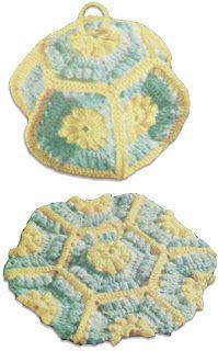 Best Free Crochet » Lantern Potholder
