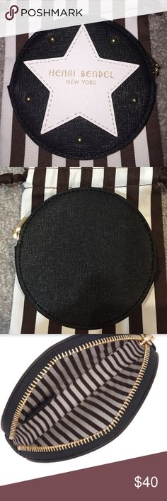 Sale over. This listing will be removed shortly. Henri Bendel W 57TH Round Coin Purse  NWOT. NO TRADES henri bendel Accessories