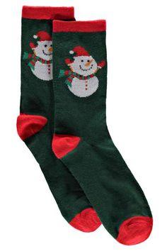 Novelty Xmas Socks at boohoo.com