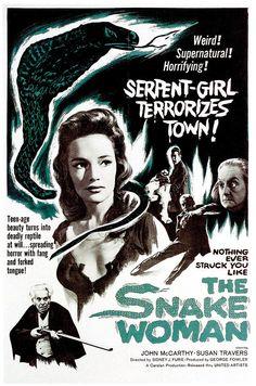 'The Snake Woman', dirigida por Sidney J. Furie (1961)