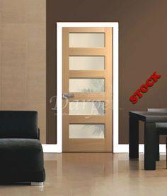 5 Lite Shaker Poplar Door 6\u0027-8\